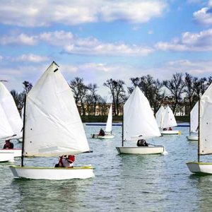 Photograph of sailing boats