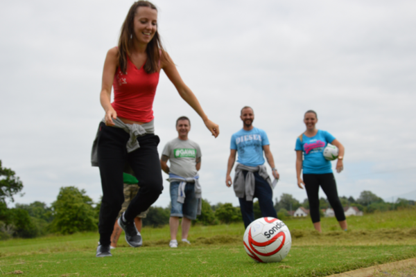 Reopening of FootGolf Course