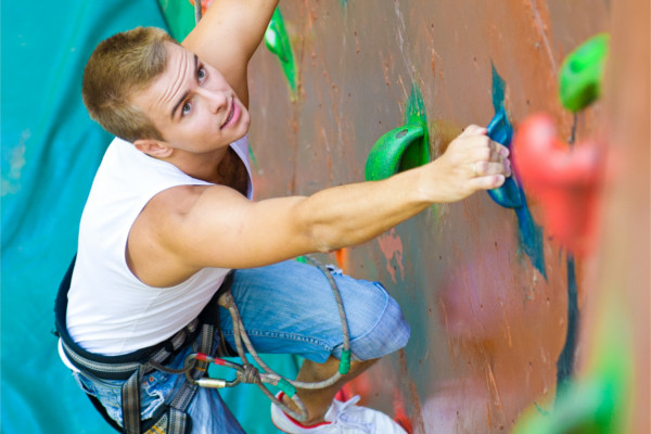 gilford community centre climbing wall