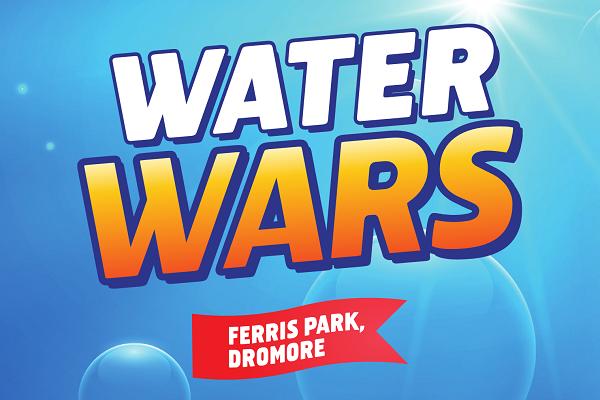 Dromore Community Centre water wars ferris park