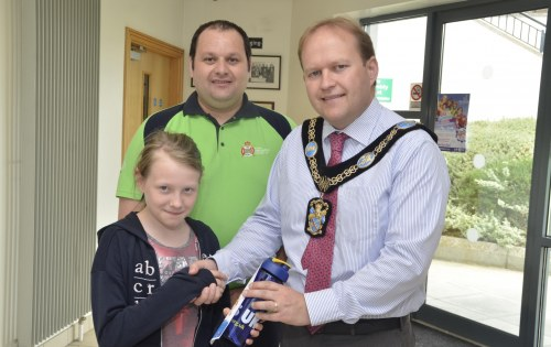 Congratulations to Chloe Stoops, winner of the Water Safety competition