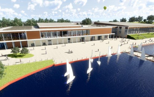 South lake leisure centre – Planning application submitted