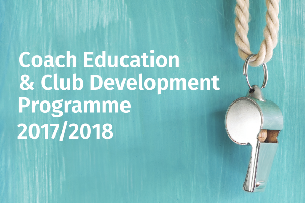 Council launch Coach Education and Club Development Programme