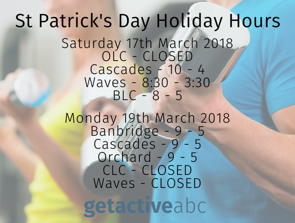 St Patrick's Day Holiday Arrangements