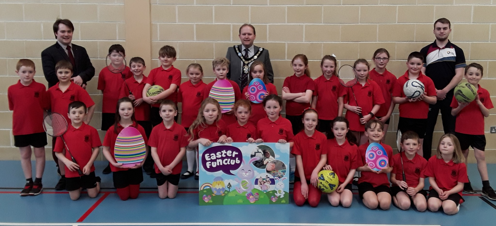 Lord Mayor Launches Council's Easter Fun Clubs