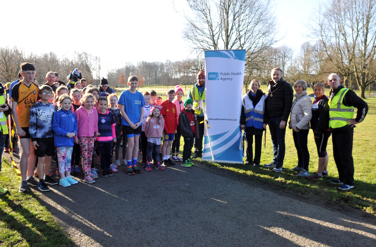 Junior Parkrun in Lurgan