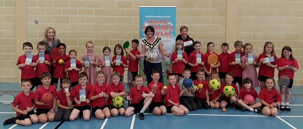 Lord Mayor Launches Crazy Summer Schemes