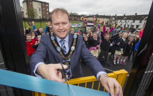Three new play parks launched in Portadown!