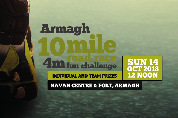 Armagh 10 Mile Road Race & 4 Mile Fun Challenge