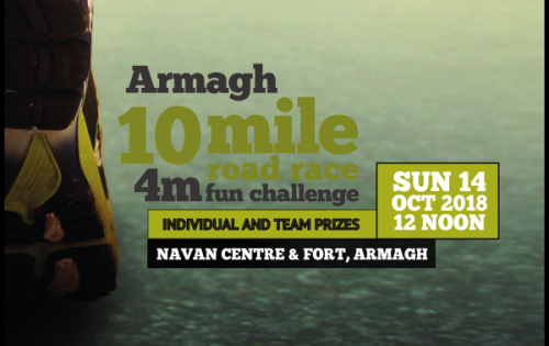 Armagh 10 Mile and 4 Mile Road Race Results are in!!