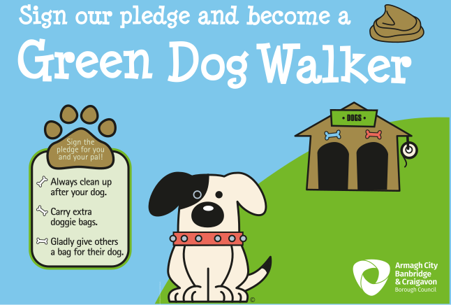 Sign our pledge and become a Green Dog Walker!