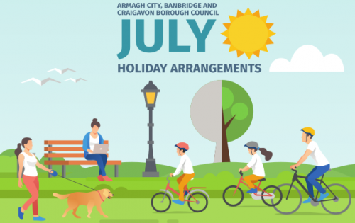 July 2018 HOLIDAY ARRANGEMENTS