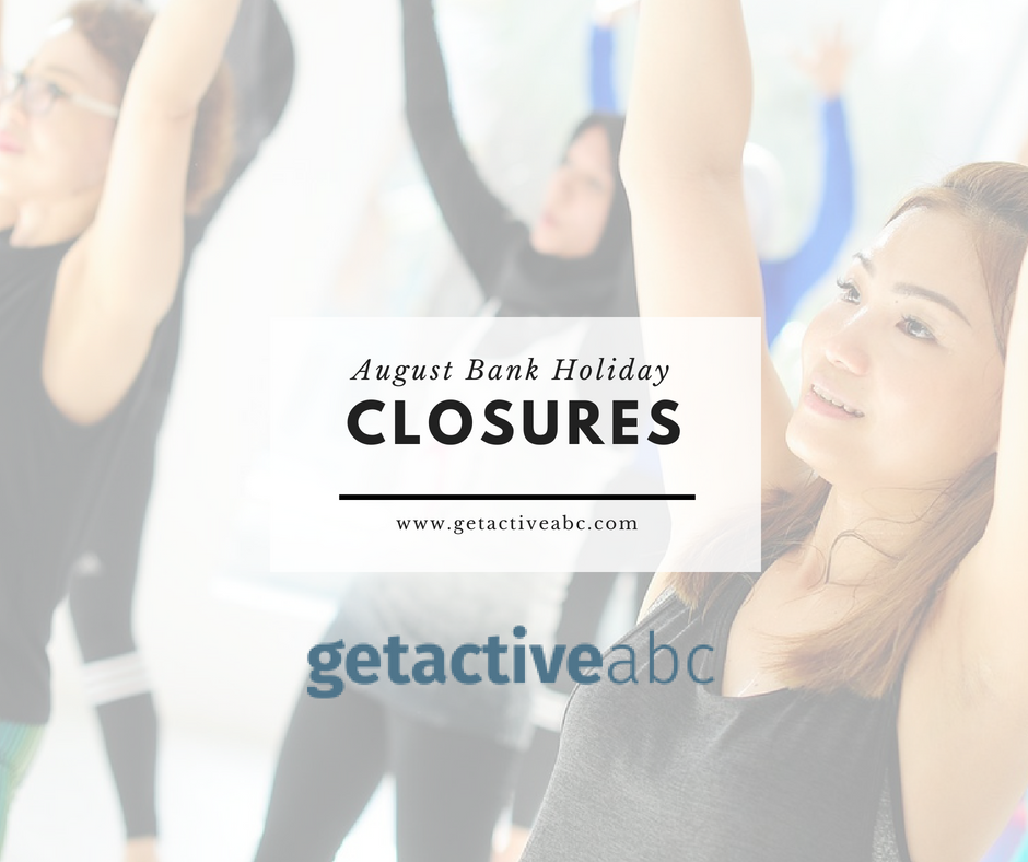 August Bank Holiday Closures – 27th August 2018