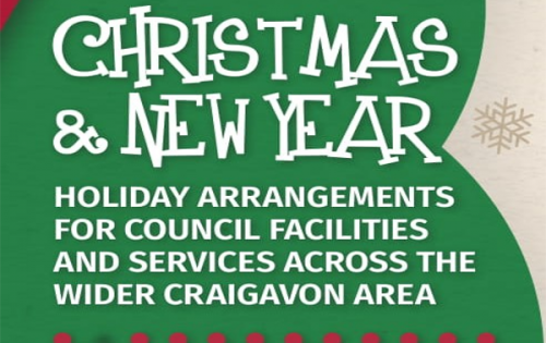 CHRISTMAS 2018 & NEW YEAR HOLIDAY ARRANGEMENTS