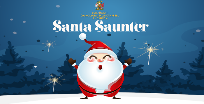 Charity Santa Saunter