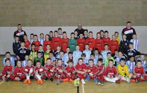 Derryhale Primary School scoop Tandragee Recreation Centre Inter-Primary School 5-a-side football competition