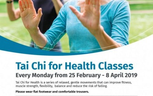 Free 6 week Tai Chi for Health classes in Brownlow Community Hub