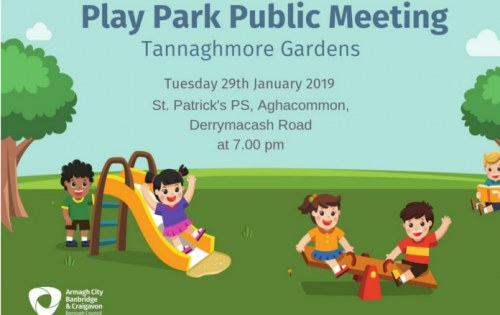 Have your say on play provision at Tannaghmore Gardens