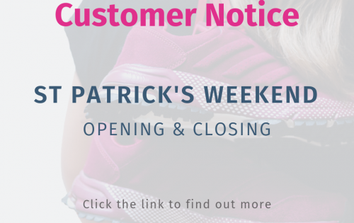 Opening and Closing hours for St.Patrick's Weekend