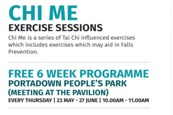 Chi Me – Free 6 Week Programme (Portadown People's Park)
