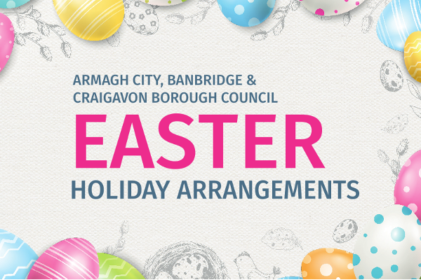 EASTER 2019 HOLIDAY ARRANGEMENTS