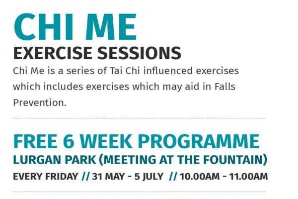 Chi Me – Free 6 Week Programme (Lurgan Park)