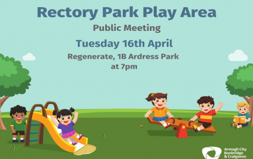 Have your say on play provision at Rectory Play Area