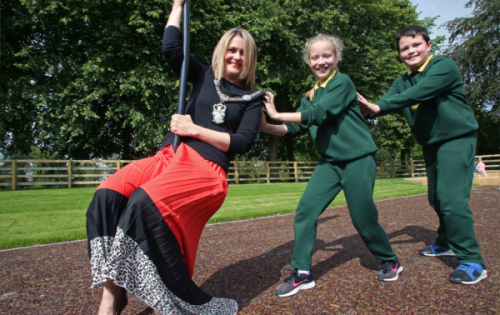 £250,000 Play Park Opens in Tannaghmore Gardens