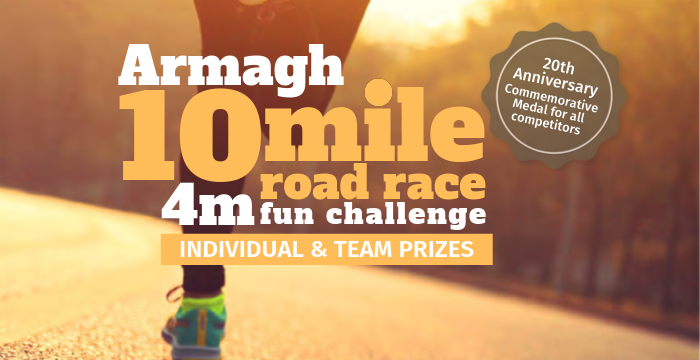 Armagh 10 Mile & 4 Mile Road Race