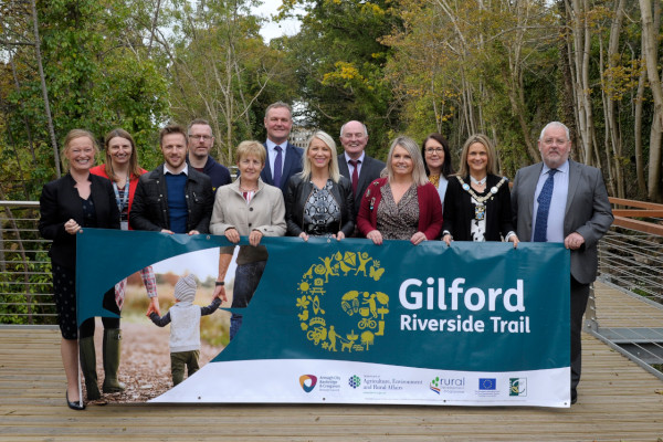 New riverside route invigorates recreation and regeneration in Gilford