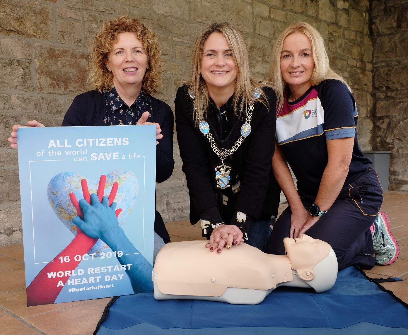 Lord Mayor calls on communities to learn vital life-saving skills