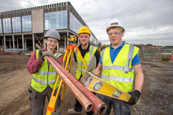 Apprentices championed as part of new £35m Craigavon Leisure Centre