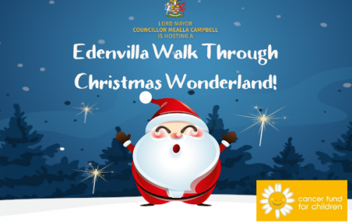 EDENVILLA WALK THROUGH CHRISTMAS WONDERLAND!