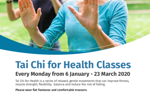 FREE Tai Chi for Health Classes – Banbridge Leisure Centre