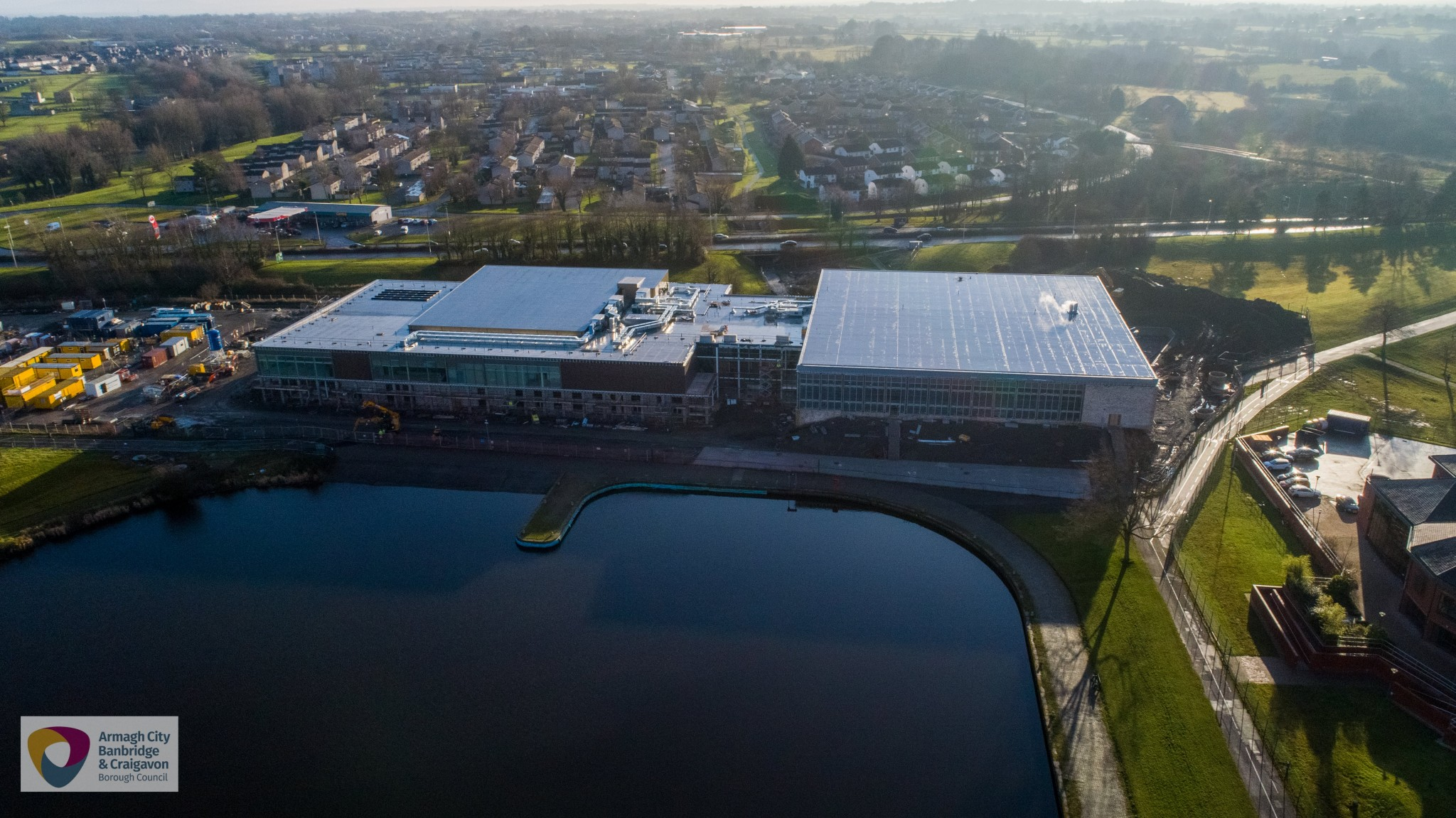 New Craigavon leisure centre on track to open on 15 August 2020